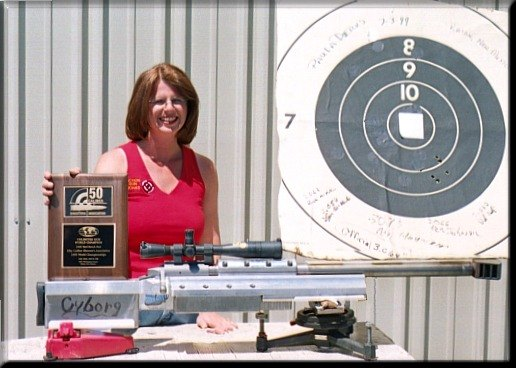 Paula Dierks, 50 BMG unlimited rifle